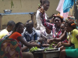 Communal feeding, a way of the people