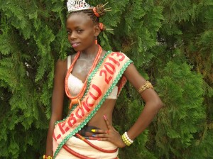Miss Leboku 2013, Blessing Ubi