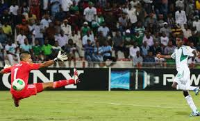 One of the goals that sent Nigeria's Golden Eaglets to the finals of the 2013 FIFA U-17 football competition in the UAE